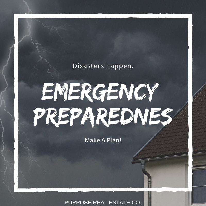 Disasters Happen. Make a Plan!